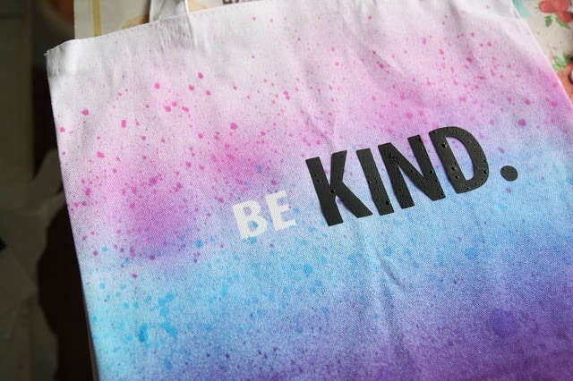 Learn how to dye a canvas bag in just 3 easy steps. Use vinyl letters to personalized the bags to say anything. This is a great craft for kids and teens!