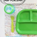 Waterproof Map Placemat