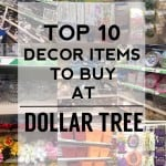 Dollar Tree Decor