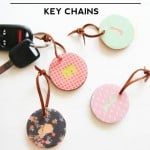 DIY Monogrammed Key Chains