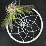 Make a DIY Dream Catcher Wreath for Under $10!