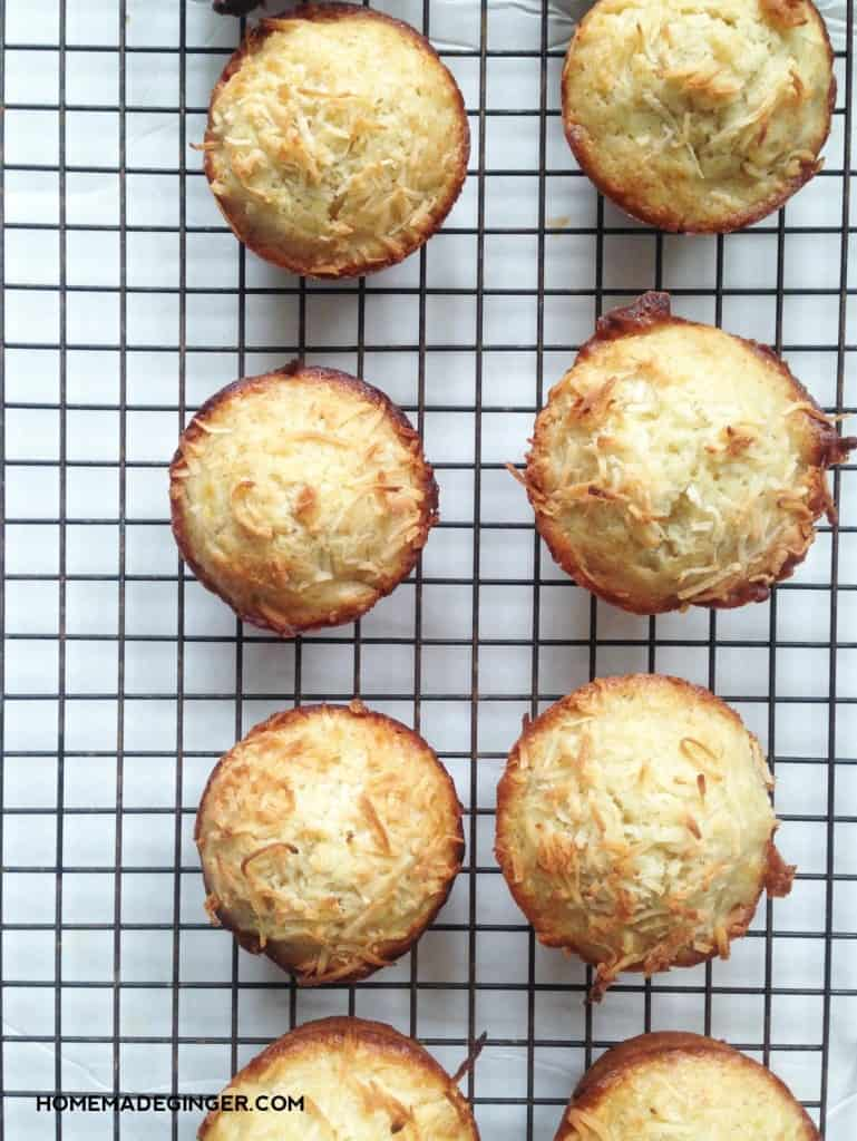 For a twist on a classic, make these toasted coconut banana muffins. They are absolutely delicious!