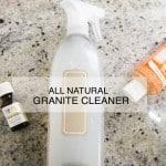 Homemade Granite Cleaner