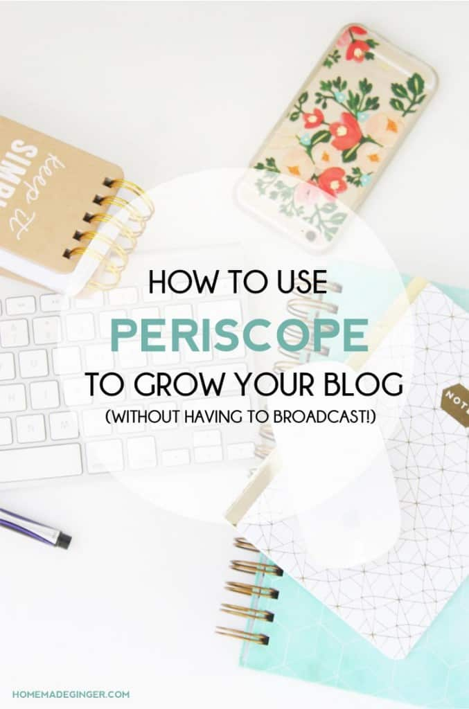 Learn how to use Periscope to grow your blog without ever broadcasting! Also, find out the top 4 scopers you absolutely must watch if you want to grow your blog!