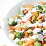 Goldfish Crackers Chopped Salad