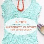 Cheap Pregnant Fashion Tips