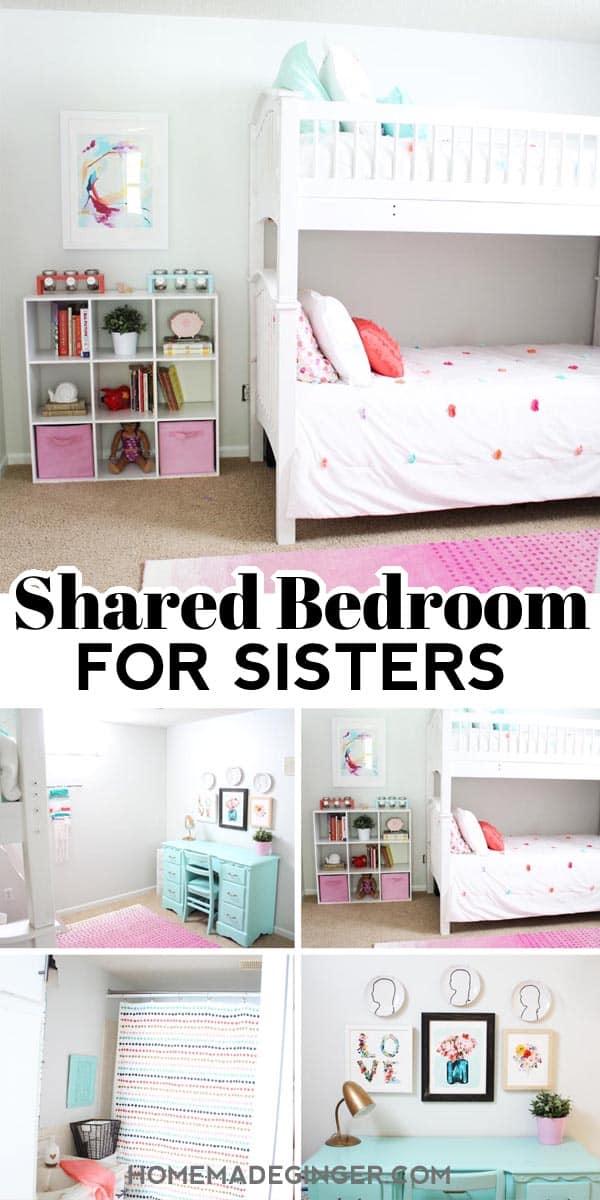 Shared Bedroom Ideas For Sisters Homemade Ginger