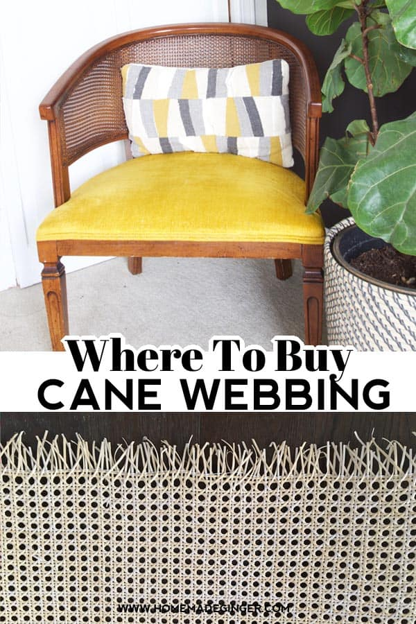 If you are looking for where to buy cane webbing, here are the best resources for caning online!