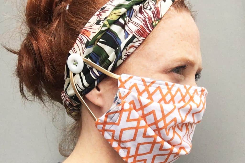 If your face mask is hurting your ears, is too large or won't fit properly over your nose, try one of these easy DIY hacks.