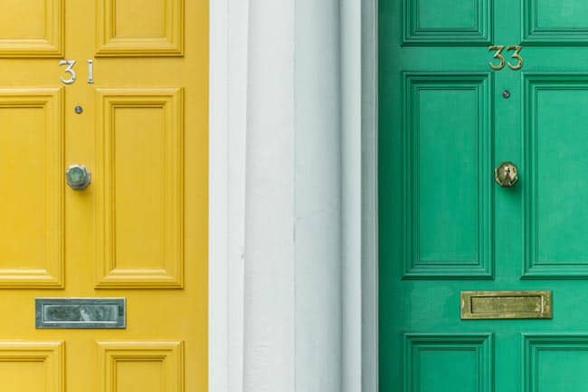 There are some important steps to take in order to prepare your front door for painting. It's important to choose the right paint color and type of paint. You also need to take your time in sanding and properly cleaning your door as well as prepping your area for paint. If you are painting a wood door, you will need to give it a coat of primer first before applying your exterior paint. Taking these steps will help you succeed in painting your front door yourself.