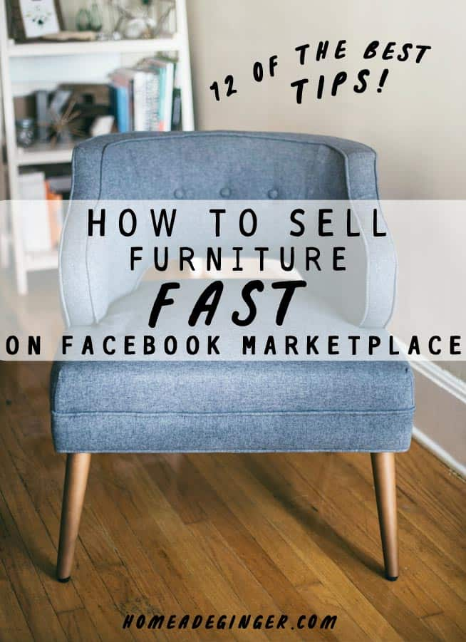 The best way to quickly sell furniture on Facebook Marketplace is to take good photos, write a detailed description, research keywords and price your item competitively. It's important to take just a little bit of time and research when posting your item on Marketplace if you want it to sell quickly. But doing your due diligence, you will save time in the long run and potentially make a higher profit.